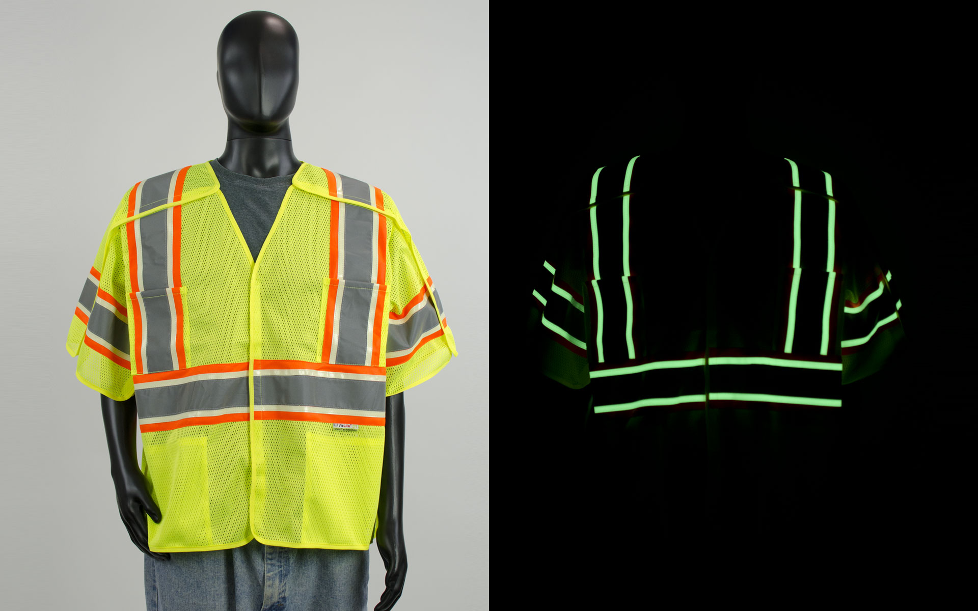 Viz Reflectives North America Work Wear presents Vizlite DT